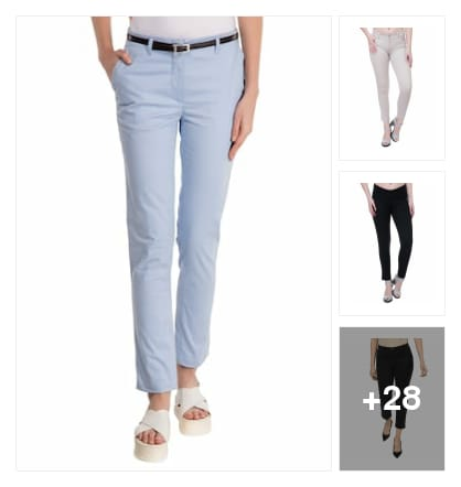 stylies trousers. Online shopping look by rishi