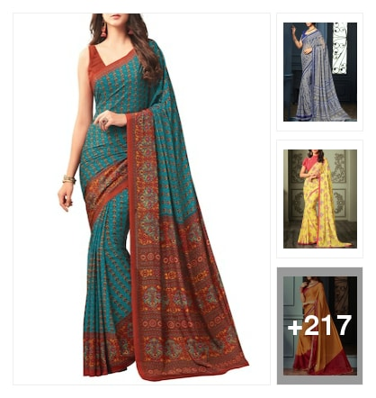 Sarees. Online shopping look by Manogna