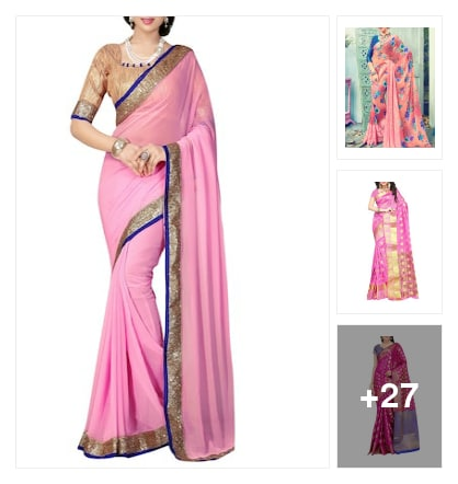 Sarees. Online shopping look by Reena