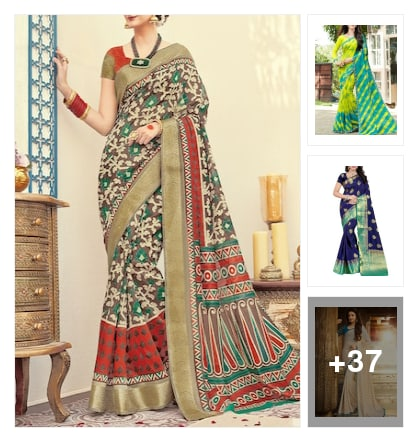Beautiful Sarees For Beautiful Ladies . Online shopping look by suryagupta