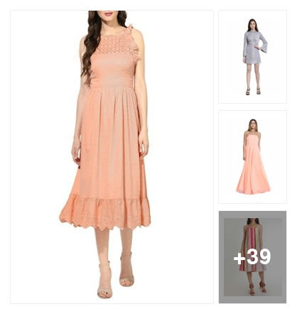 Softest hues for summer. Online shopping look by Priya Choudhary
