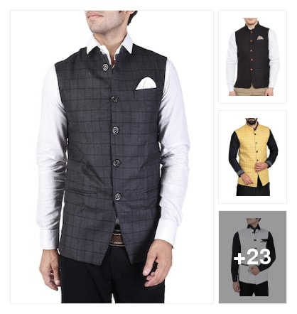 Excellent jackets for hand some men. Online shopping look by Chandra