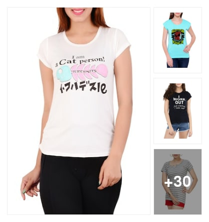 Tees. Online shopping look by dare