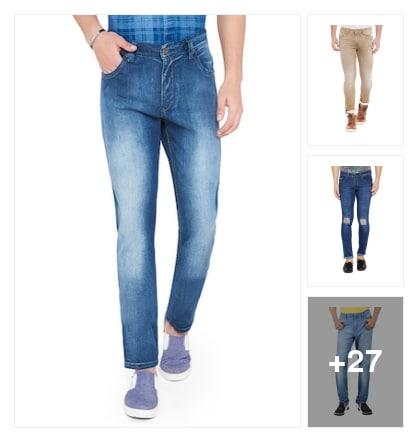 Trend alert :- perfect Jean's for men. Online shopping look by Kinki