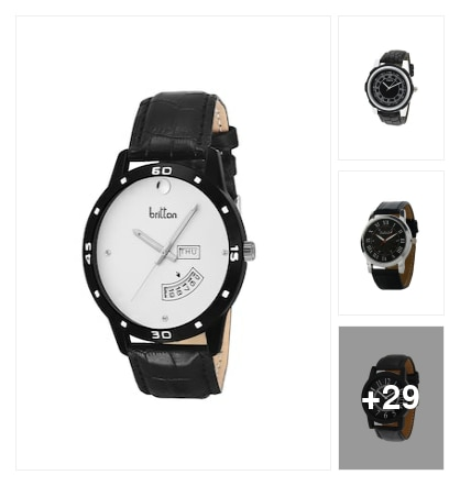 """Trend alert :- analog watch ""👇. Online shopping look by Kinki"