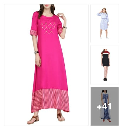 Dresses. Online shopping look by Sree reddy
