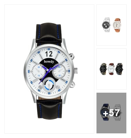 watches collection for boys. Online shopping look by Sandhya