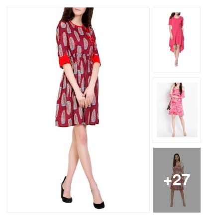 New Arrival dresses. Online shopping look by sravana