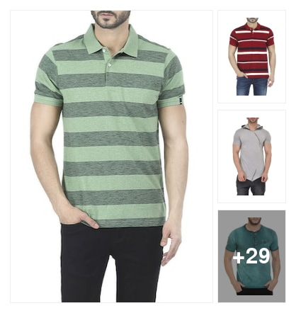 Cotton Tshirts. Online shopping look by sravana