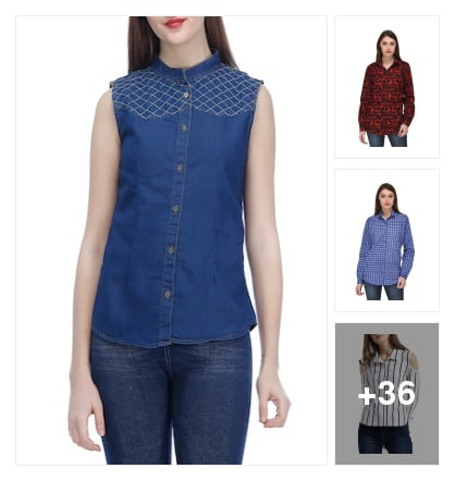 smart shirts. Online shopping look by Subha