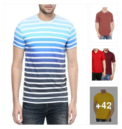 T SHIRTS. Online shopping look by Krish  ♥  Stylish