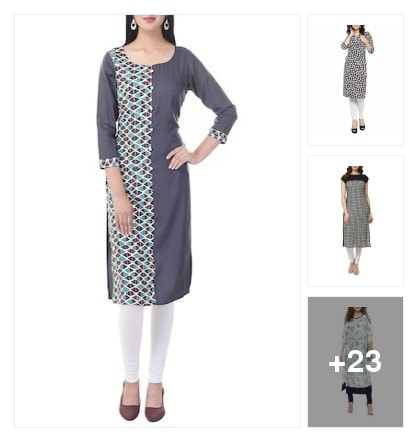 Kurtas . Online shopping look by Mitra
