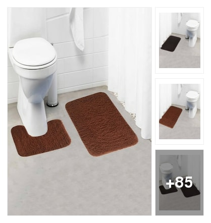 bath mats collection for your bathroom. Online shopping look by Sandhya