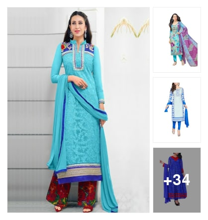 Trending suit. Online shopping look by Geeta