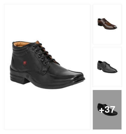Doctors derivative formal shoes. Online shopping look by Dr.