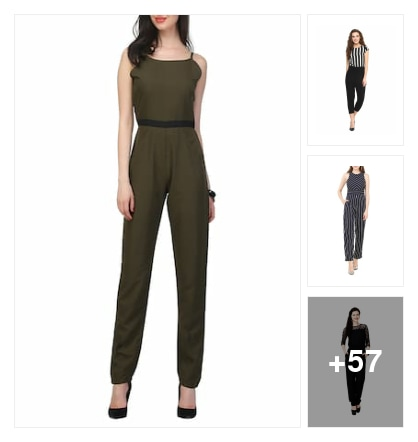 Full legs jumpsuits. Online shopping look by nikku.gupta512