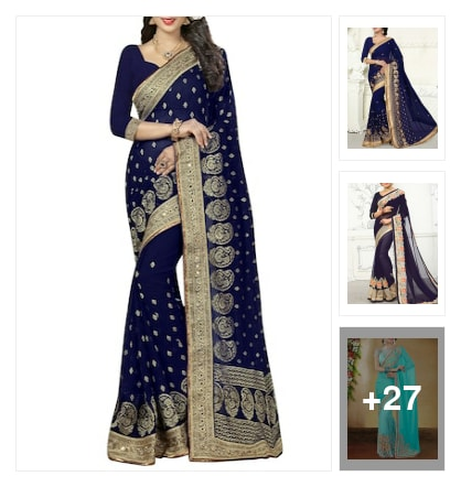 Gorgeous blue. Online shopping look by Jayasmita
