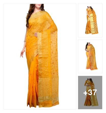 Pretty yellow. Online shopping look by Jayasmita