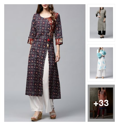 Stylist Kurtas. Online shopping look by Pratibha