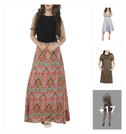 Dresses. Online shopping look by Rekha