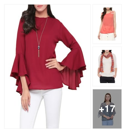 Tops. Online shopping look by Rekha