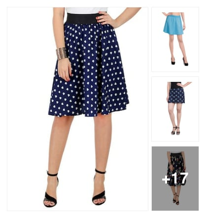 Skirts. Online shopping look by Rekha