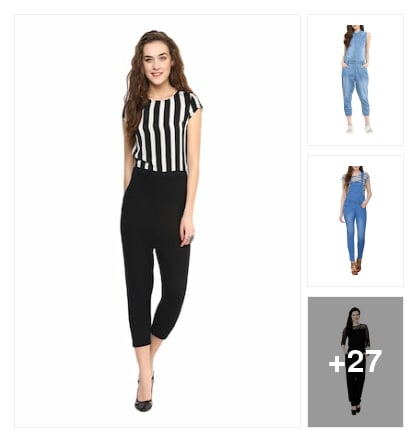 Jumpsuits to style with. Online shopping look by kumar