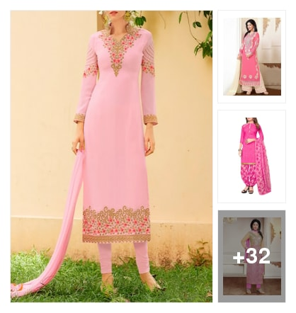 Love in pink:Pink collections for women😊👍. Online shopping look by Mahati Praveen