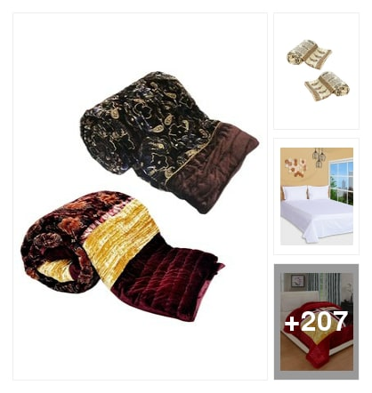 Awesome bedsheets. Online shopping look by sravani