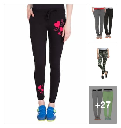 Track pants. Online shopping look by Krish  ♥  Stylish
