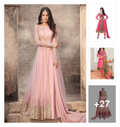 Beautiful Pink Suit Collection. Online shopping look by Royal