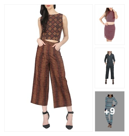 Jumpsuits stylish forever. Online shopping look by Pooja