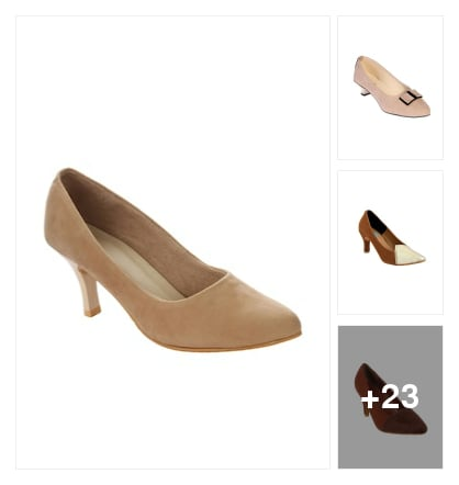 Pumps. Online shopping look by Shona