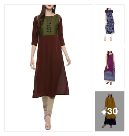 Kurtas. Online shopping look by Alpa