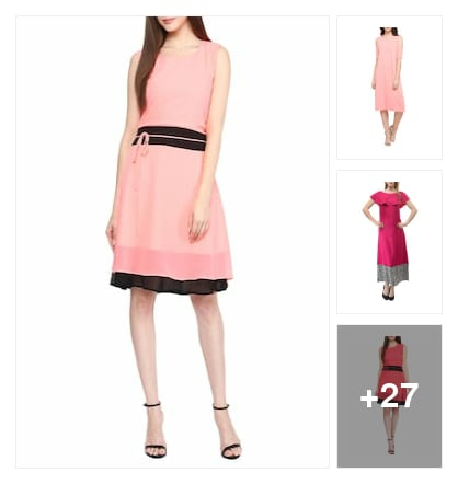 Exemplary   Dresses  for   Prettiest  Hue. Online shopping look by lumbu