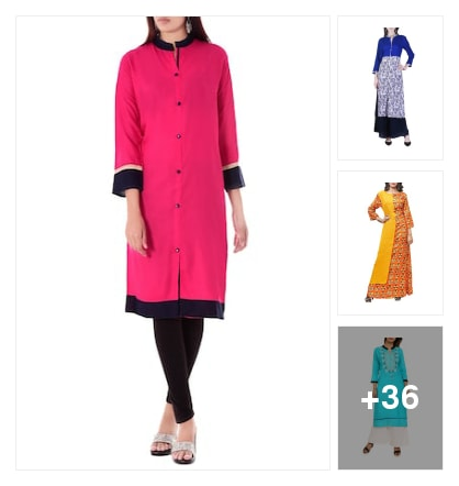 LOVELY KURTAS. Online shopping look by narayan