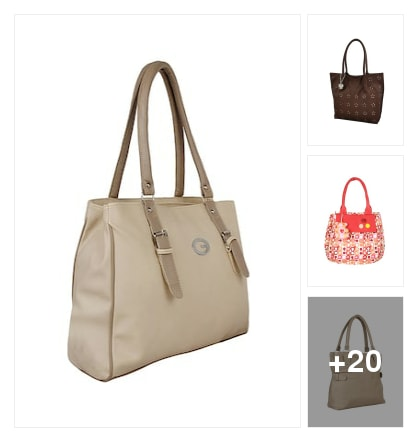 Handbags for regular use. Online shopping look by sangeetha