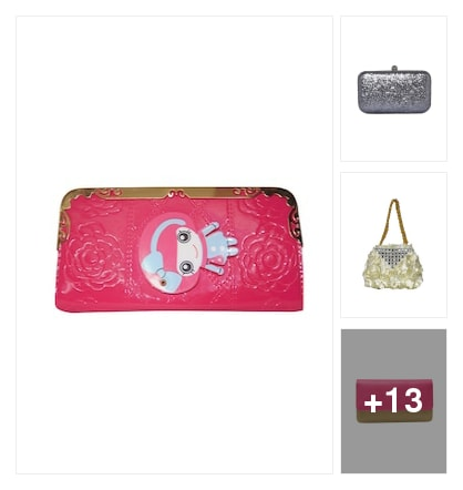 Clutches for u. Online shopping look by sangeetha
