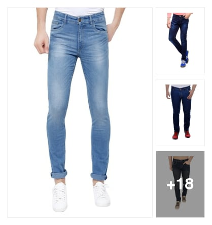 Jeans for men. Online shopping look by lahari