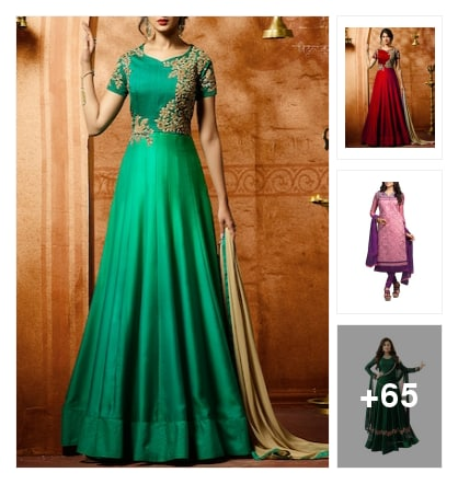 Awesome  dress  for parties. Online shopping look by Jhansi