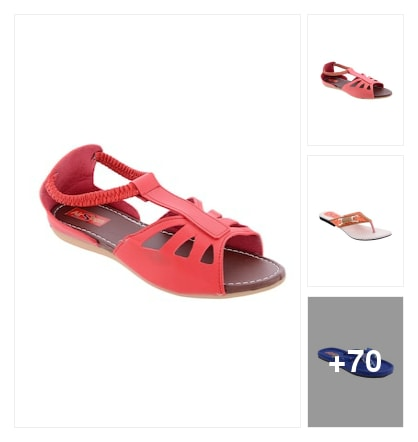 Airsoon flats . Online shopping look by Teju