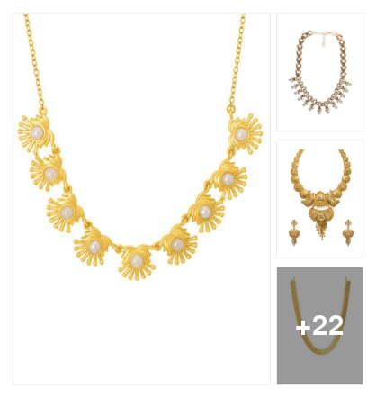 Necklace. Online shopping look by Teju