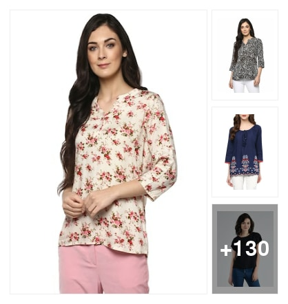 Bestselling and beautiful rayon tops    at huge discounts here  . Shop from my exclusive collection 🌹🌱🌹🌱. Online shopping look by Abhijit