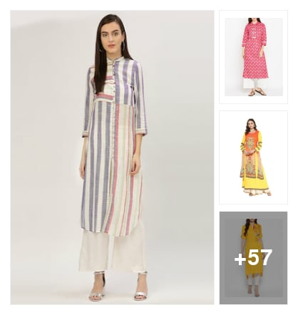 Kurtis collection. Online shopping look by jyoti