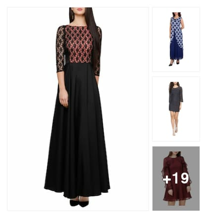 Dresses. Online shopping look by vijaya