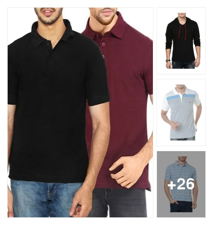 Tshirtes. Online shopping look by vijaya