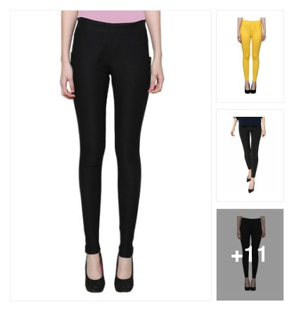 Nylon jeans and jeggings . Online shopping look by jassu