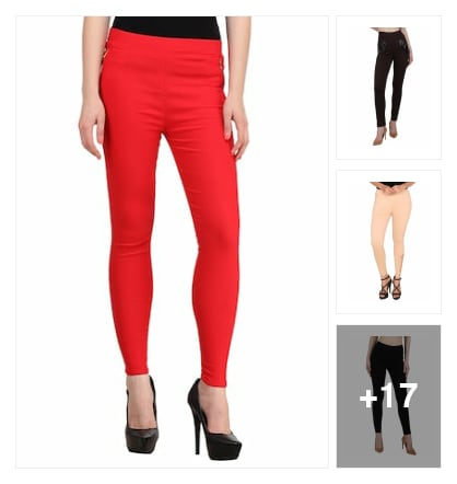 Cotton lycra jeans and jiggings . Online shopping look by Neela