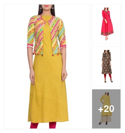 New arrival kurtas for you. Online shopping look by ramakrishna