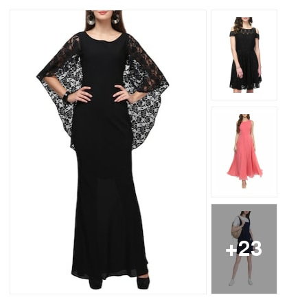 Dresses for you. Online shopping look by ramakrishna
